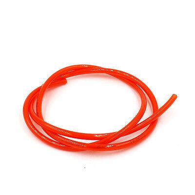 Pneumatics PU Tube Pipe Hose OD 6mm x ID 4mm x WT 1mm yellow 5 meters