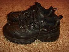 Skechers Work Iron Energy 4059 Black Steel Toe Shoes Mens Size 7.5