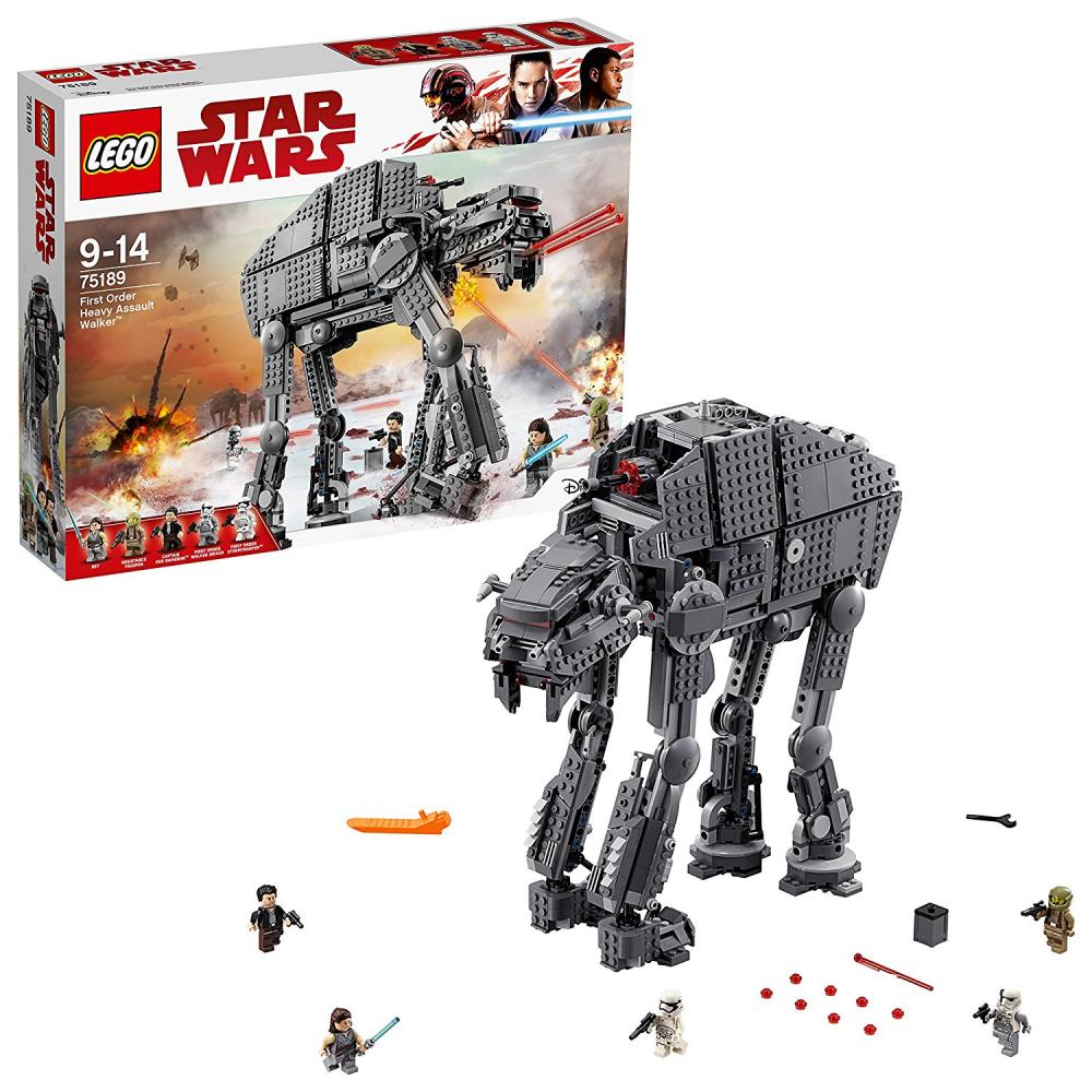 Lego Star Wars The Last Jedi 75189 premier ordre Heavy Assault Walker Toy
