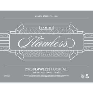 2020 FLAWLESS FOOTBALL FACTORY SEALED HOBBY BOX