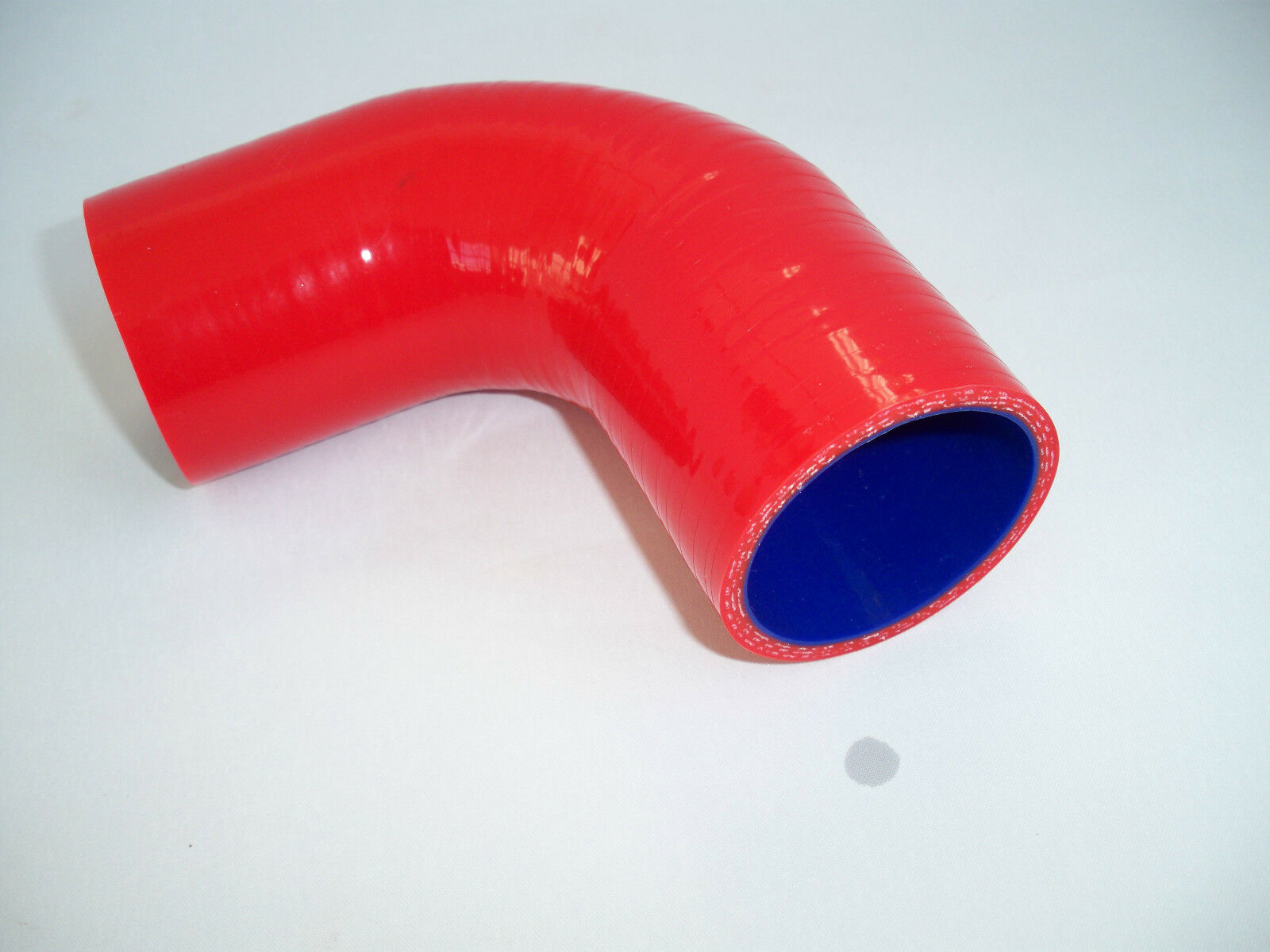 19mm I.D RED 90 Degree Reducing Silicone Elbow Hose Pipe Reducer Silicon 25mm
