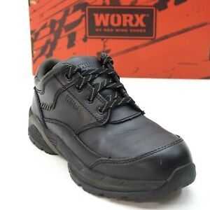 22807c1d493 Details about Red Wing Worx Ladies 8 Wide Steel Toe Static Dissipative  Oxford Work Shoes