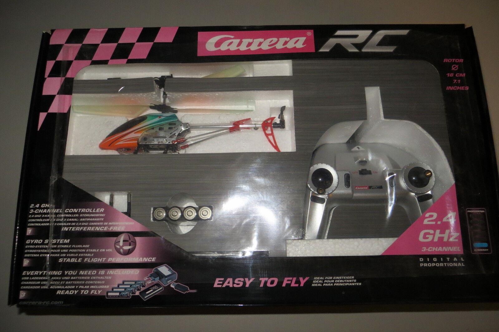 Carrera RC 5001005 Orange Sply Helikopter - Digital Proportional 2,4GHz
