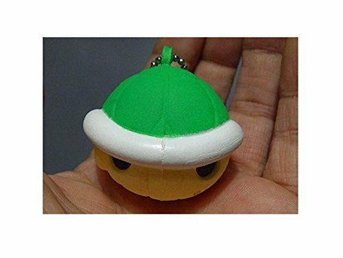 Super Mario Kart 8 Funyu funyu Keychain ~Green Koopa Shell 35mm H x 40mm W