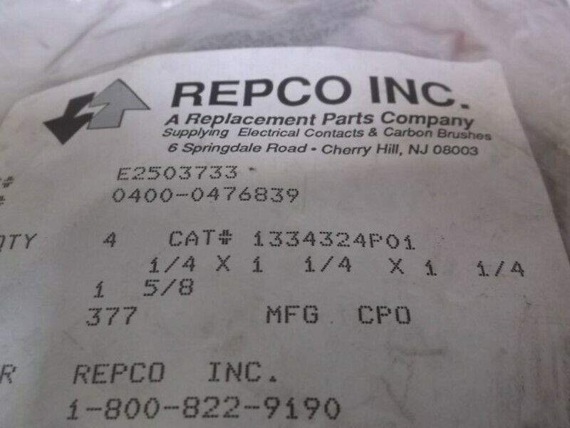 Prime Lot 4 Repco Carbon Brush New In A Bag 1334324P01 Of Ntvini6581 Plc Wiring Database Brom4X4Andersnl