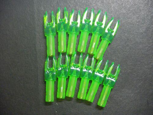 Easton X Nock 12 Pack Green