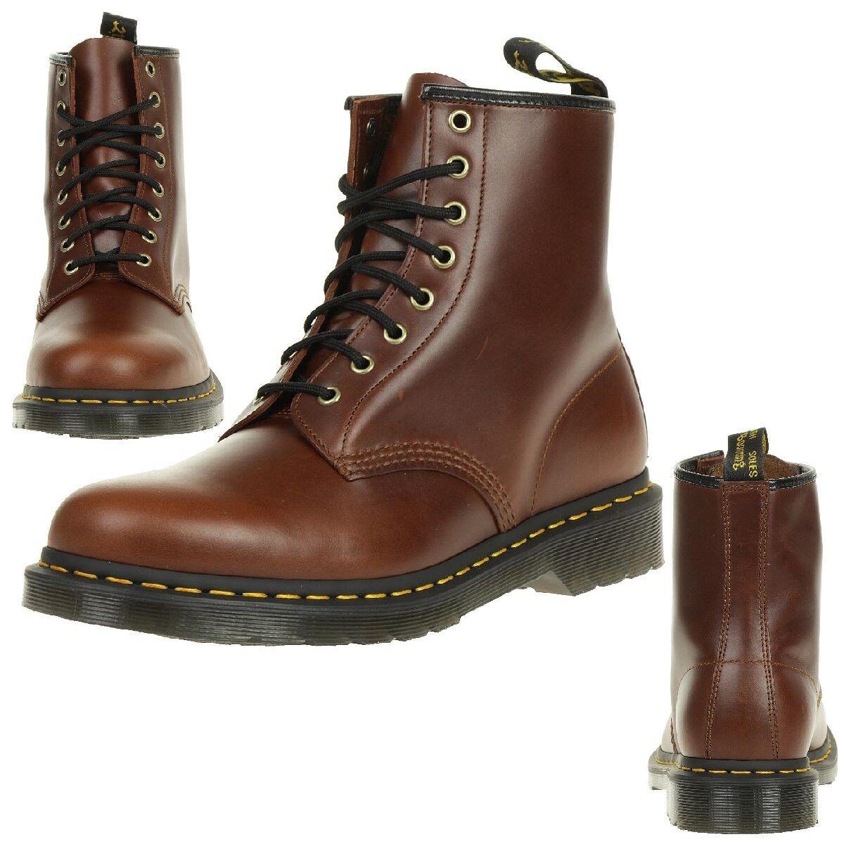 Dr. Martens 1460 Aqua Glide Cognac Unisex Stiefel Stiefel Braun 23878632    | Bevorzugtes Material