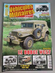 Vehicles Military Magazine N° 38 Dodge WC57 Utiliy Car M20