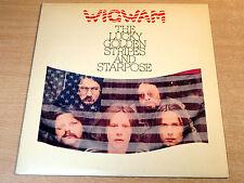 EX/EX !! Wigwam/Lucky Golden Stripes And Starpose/1976 Virgin LP