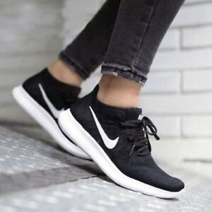 Eu gs Rn 881973 5 Uk Flyknit Nike 2017 38 5 Free Youth Nero 5 003 qZnwFTfx
