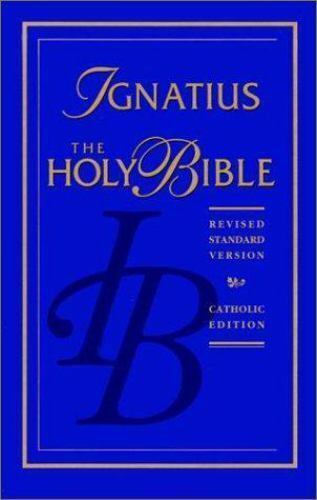 The Ignatius Bible 1994 Hardcover Ebay