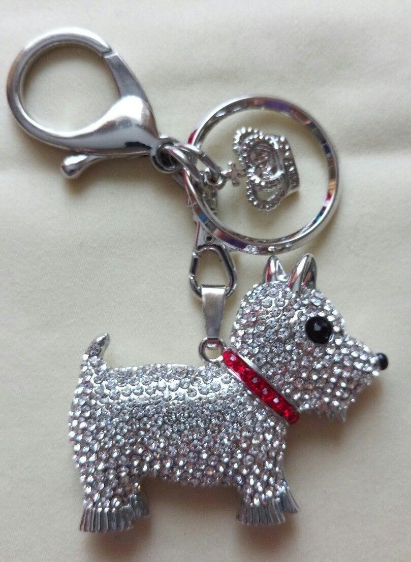 Butler & Wilson Keyring Bag Charm Pendant - - - Dog 764f76