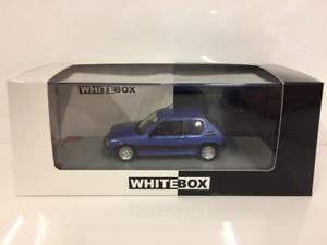 Peugeot 205 GTI 1982 bluee Metallic 1 43 Scale Whitebox 244