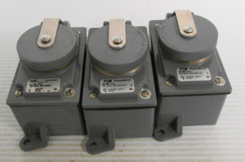 Russellstoll 3754 4 Pin Receptacle 30A 250V 20A 600VAC 3