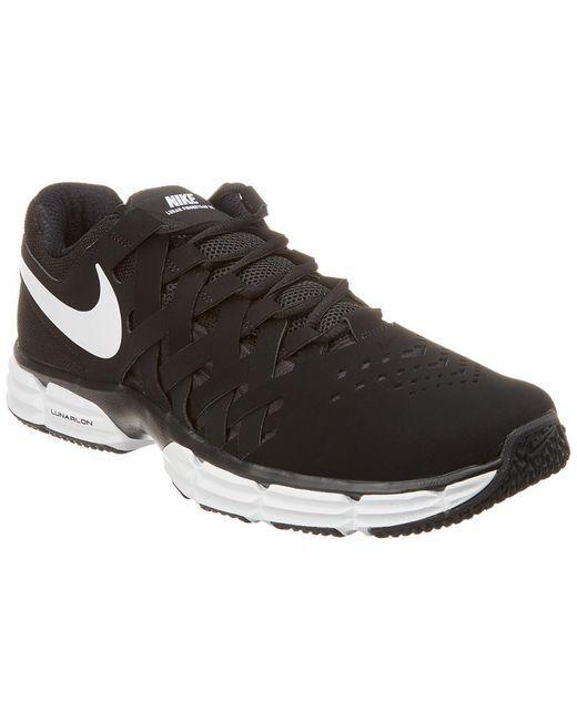1b1c93b01f1a Men s Nike® NWOB Lunar Lunar Lunar Fingertrap Tr Black White Training shoes  Size 11 d7cb20