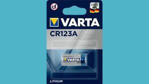 Clever 25 X Varta Cr123a Lithium 3v 6205 Cr17345 Blister Fotobatterien Akkus & Batterien Elektromaterial