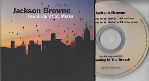 JACKSON-BROWNE-The-Birds-Of-St-Marks-2014-US-2-track-promo-CD