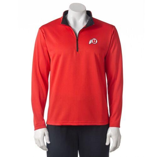 $50 Utah Runnin/' Utes ncaa 1//4 Zip Sweatshirt Jacket Jersey ADULT MEN/'S xl