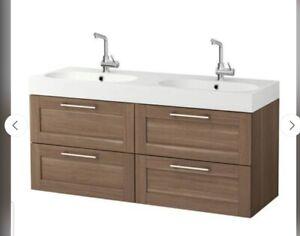 New Ikea Godmorgon Sink Cabinet Vanity 4 Drawers No Sink Memphis Tn Pick Up Ebay
