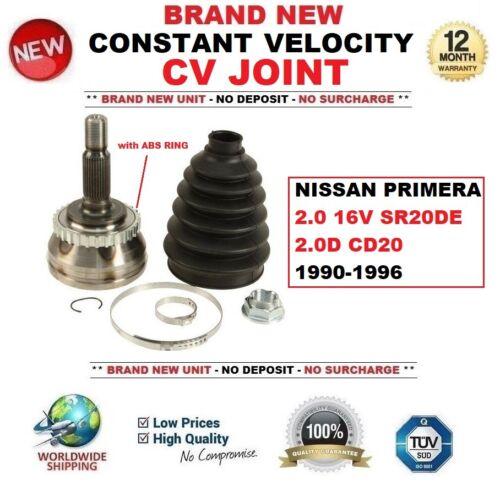 FOR NISSAN PRIMERA 2.0 16V SR20DE 2.0D CD20 1990-1996 CONSTANT VELOCITY CV JOINT