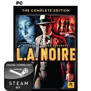 Details about L A  NOIRE THE COMPLETE EDITION PC STEAM KEY