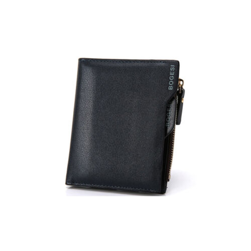 Men/'s PU Leather Bifold Wallet ID Credit Card Holder Multifunction Coin Purse CA