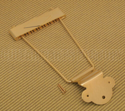 TP-0630-002 Gold 12-string Trapeze Tailpiece for Hollowbody//Archtop//Jazz Guitar