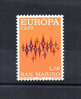 Diszipliniert Repubblica San Marino 1972 Europa Cept 50 Lire Unif Europa 849 Mnh** San Marino