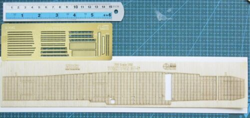 W70162 Hunter 1//700 USS Yorktown CV-5 wooden deck for Trumpeter 06707