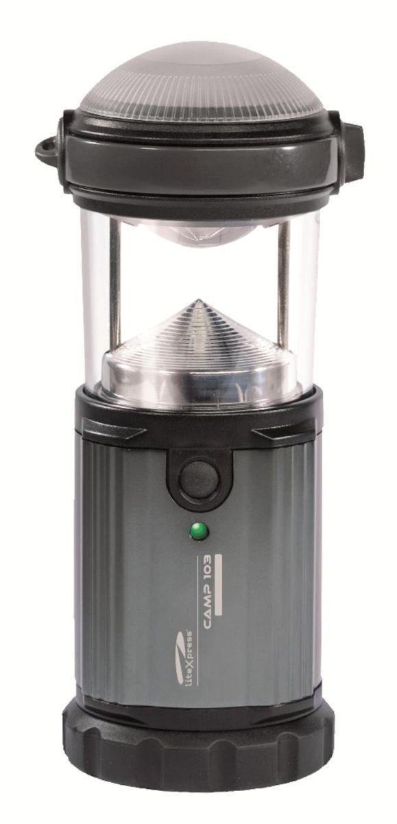 LiteXpress Standlampe Standlampe LiteXpress Taschenlampe Lampe Camp 103 1 Hochleistungs-LED 787400 d27993