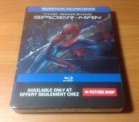 -new- The Amazing Spiderman Steelbook (blu Ray / Dvd) Region Free, Spider-man
