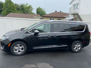 2018 Chrysler Pacifica cuire
