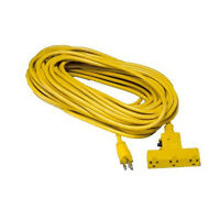 6 Ft 14/3 Outdoor Extension Cords W/overload Protected Triple 15a Cst-6m