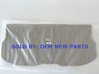 2011-2015 Nissan Quest BEIGE TAN Cargo Area Protector 999C3-NX001 NEW OEM