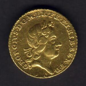 Great-Britain-1718-George-1-Quarter-Guinea-gVF