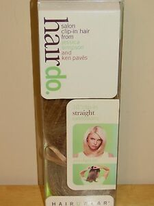 HairDo-JESSICA-SIMPSON-Salon-Clip-In-Hair-Extension-10-034-Straight-BUTTERED-TOAST