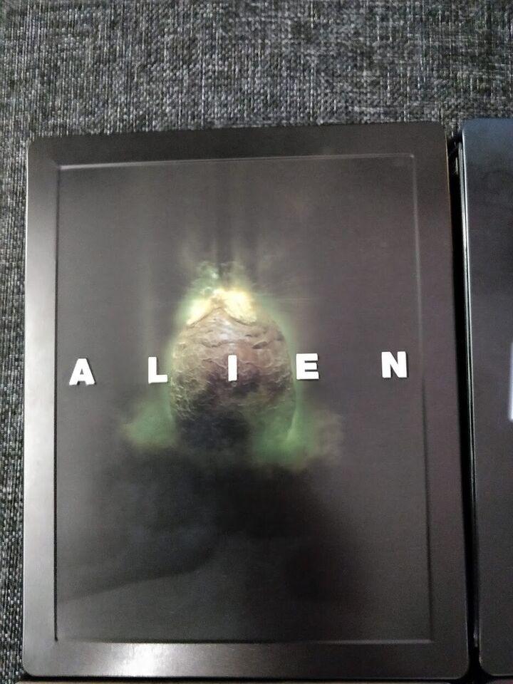 Alien steelbooks 1-6, Blu-ray, gyser
