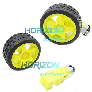 smart-Car-Robot-Plastic-Tire-Wheel-with-DC-3-6v-Gear-Motor-for-arduino