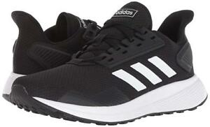 da5d5a6990b9 WIDE Men Adidas Duramo 9 Running Shoe BB7953 Color Black White Black ...