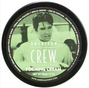 American-Crew-Forming-Cream-3-oz-Medium-Hold-and-Shine-New-Elvis-Presley-Special