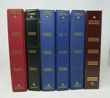 Lot Of 6 Used Assorted 3 Ring Binders 1 12 Inch Round Rings