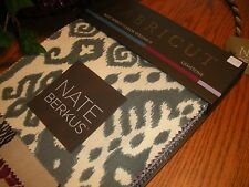 "Nate Berkus Swatch Sample Fabric Book ""Gemstone"" Color Volume II 28 Panels"