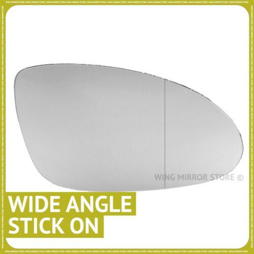 Lado derecho para Mercedes Clase CLS W219//C219 04-09 Cristal Espejo De Ala Gran Angular