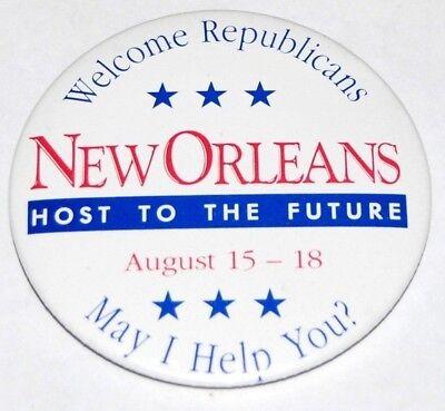 1988 Republican National Convention Campaign Button