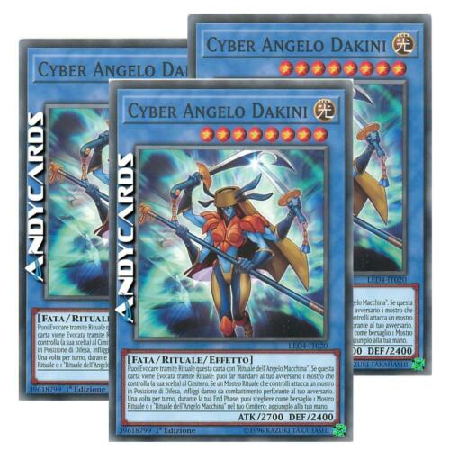 Cyber Angel Dakini 3x CYBER ANGELO DAKINI • Comune LED4 IT020 Yugioh ANDYCARDS