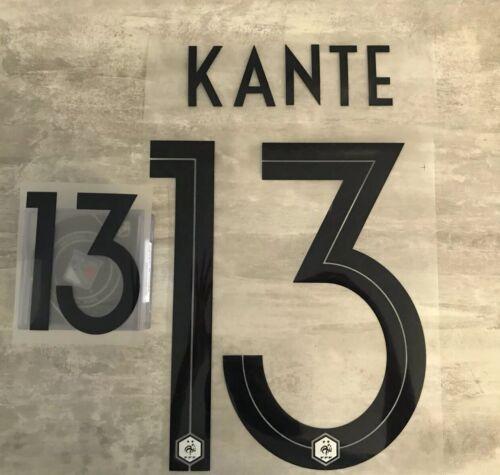 Flocage équipe de FRANCE  Kante 13 ⭐️⭐️ Exterieur ⭐️⭐️ Livraison Rapide France