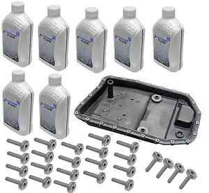 Details about BMW oem Auto Transmission Filter Kit + Bolts + Fluid ZF  GA6HP19Z e60 e61 e90