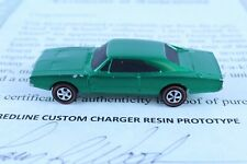 HOT WHEELS REDLINE CUSTOM CHARGER RESIN PROTOTYPE LARRY WOOD COLLECTION