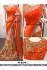 Indian designer party wear saree ethnic tradition bollywood wedding lehenga sari