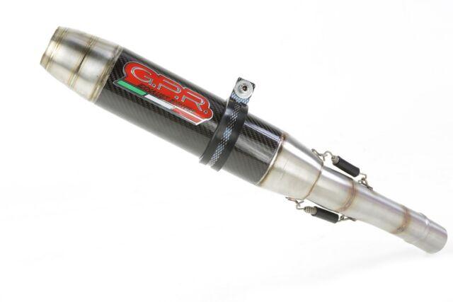 KAWASAKI zx-10r 2010/15 ESCAPE LOOK CARBONO deeptone by GPR TUBO DE Italia
